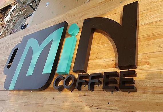 BẢNG HIỆU GỖ CAFE
