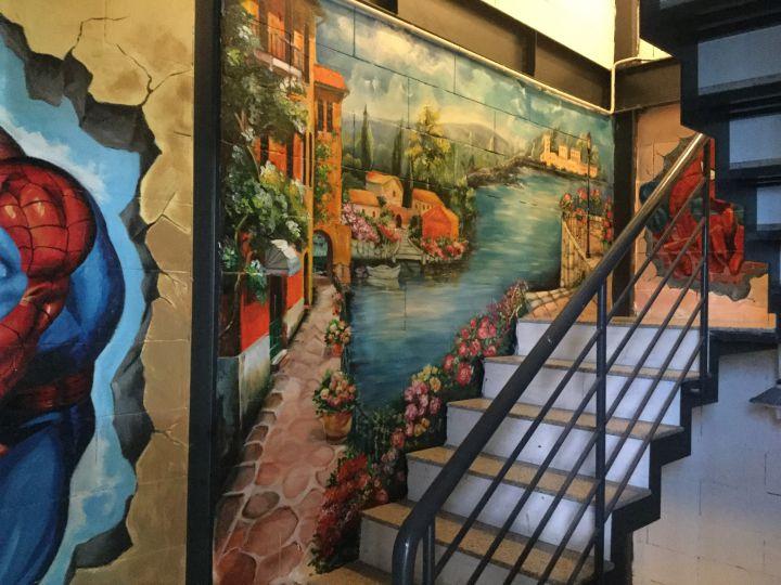 Vẽ tranh tường đẹp | vẽ tranh tường tại Q9