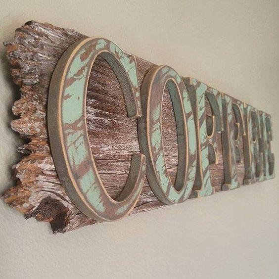 Bảng hiệu quán cafe bằng gỗ thông.JPG