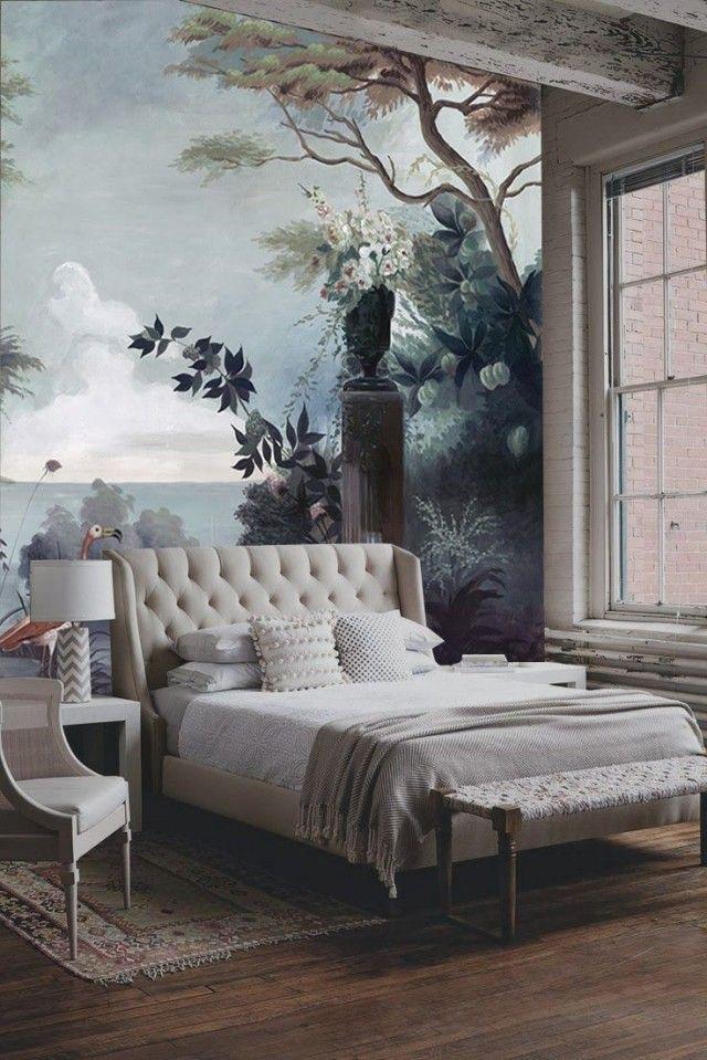 Cách vẽ tranh tường phòng ngủ đẹp, vẽ trang trí phòng ngủ.JPG