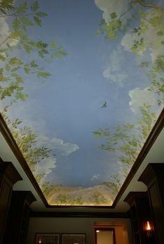 Nhận vẽ trực tiếp lên trần thạc cao giá rẻ.JPG