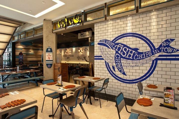 Tranh tường quán cafe, tranh tường nhà hàng