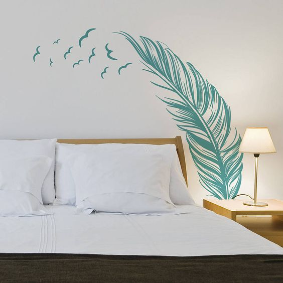 trang trí phòng ngủ sáng tao