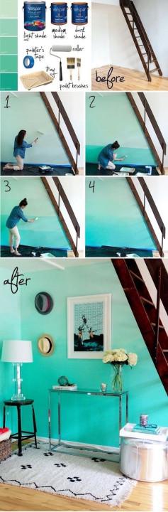 vẽ tranh tường đơn giản