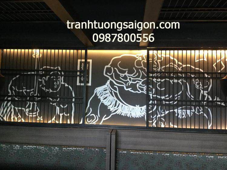 vẽ tranh tường đẹp, ve tranh tuong tại tphcm